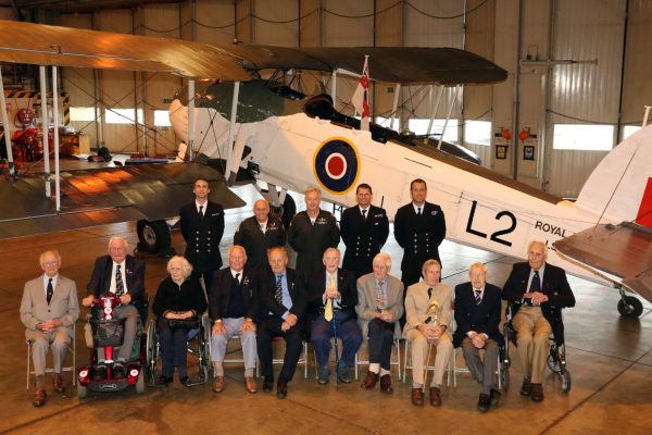 The old and the new, The present Swordfish team join the veterans on Friday afternoon at the Navy Wings event at RNAS Yeovilton